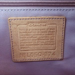 Coach Bags - Coach Patchwork Hobo With Leather Trim In EUC